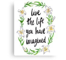 Imaginative Lily Canvas Print