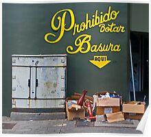 Rubbish. Poster