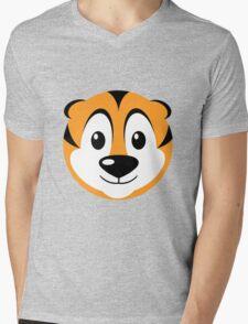 Tabbi Tiger Mens V-Neck T-Shirt