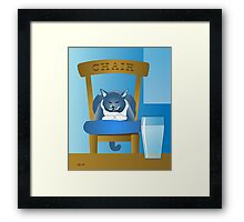Jackson : The Chairman Framed Print