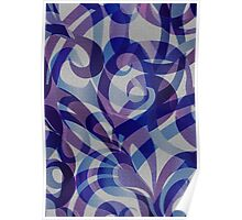 Floral Abstract  Poster