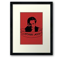 Captain Hook Ribbon Framed Print