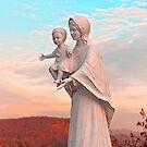 Saint Mary with Jesus by Vac1