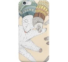 Ferret sleep iPhone Case/Skin