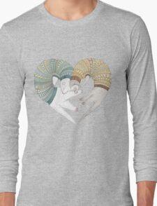 Ferret sleep Long Sleeve T-Shirt