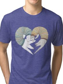 Ferret sleep Tri-blend T-Shirt