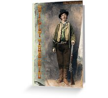 Billy The Kid 2 Greeting Card