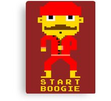 Start boogie Canvas Print