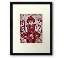 Internet Girl Framed Print
