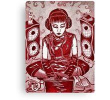 Internet Girl Canvas Print