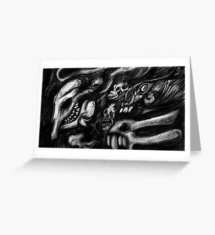 Army of the dead Greeting Card