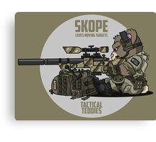 SKOPE (Tan) Canvas Print