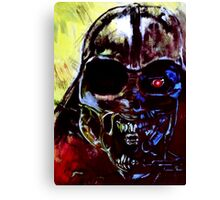 Darth Vader Alien Terminator Mashup Canvas Print