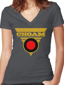Dune CHOAM Women's Fitted V-Neck T-Shirt