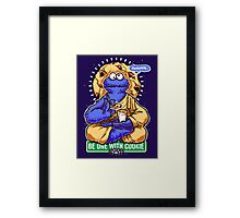 One With Cookie Framed Print