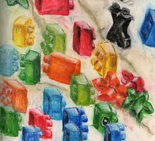 Drying Toy Blocks by Oruala