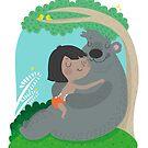 Jungle friendship by mjdaluz