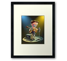 Southern Baby Blues Framed Print