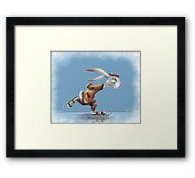 Professor Popple's Skate Framed Print