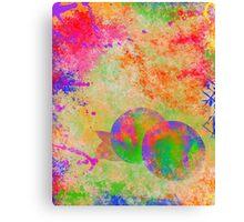 Electric Peach Canvas Print