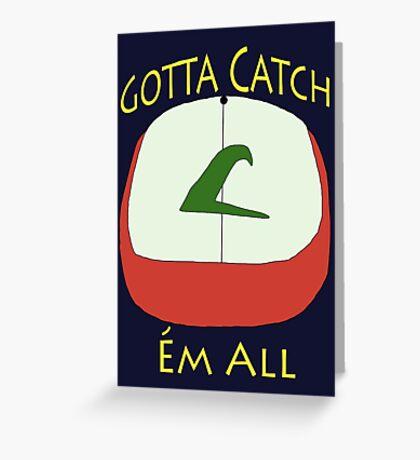 Pokèmon Hat - Ash Ketchum Greeting Card