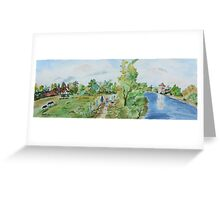 Marlow on Thames Greeting Card