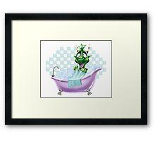 Bartleby's Bathtub Surprise Framed Print