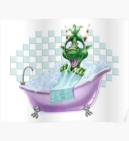 Bartleby's Bathtub Surprise Poster