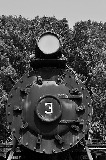 Train Headon by joevoz