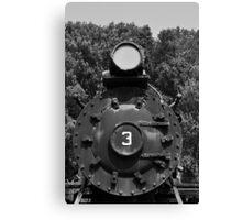 Train Headon Canvas Print