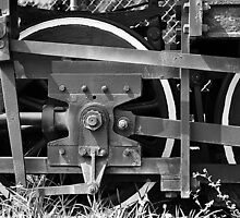 Train Wheel 2 by joevoz