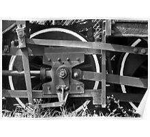 Train Wheel 2 Poster