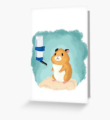 Hamster life Greeting Card