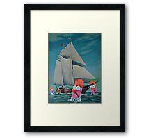Beaker Bay Framed Print