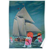 Beaker Bay Poster