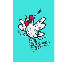 Spring Chicken Photographic Print