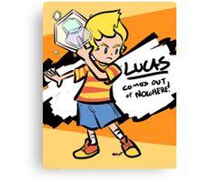 Lucas Confirmed Canvas Print
