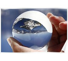Crater Lake ~ the World in my Hand Poster