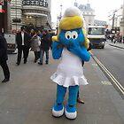 Smurfette in London. by J0KER
