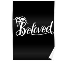 Beloved (White) Poster