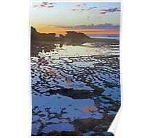 Sorrento Sunrise Poster