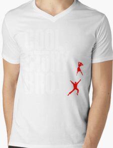 West Side Story, Bro. (White) Mens V-Neck T-Shirt