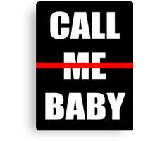 EXO chen Call me baby Canvas Print