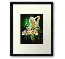 KushLove Framed Print