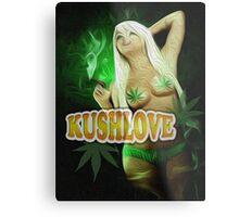 KushLove Metal Print