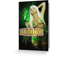 KushLove Greeting Card