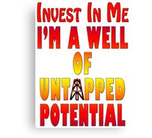 Untapped Potential Canvas Print