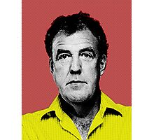Top Gear Inspired Pop Art, Jeremy Clarkson Photographic Print