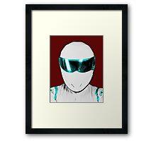 Top Gear Inspired Pop Art The Stig Framed Print