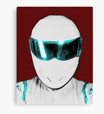 Top Gear Inspired Pop Art The Stig Canvas Print